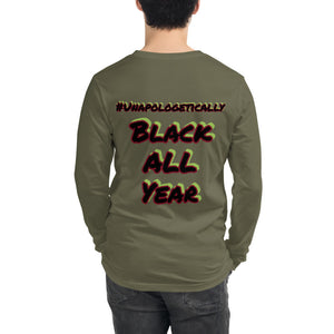 Black History All Year Long Sleeve Tee