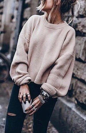 street warm sweater