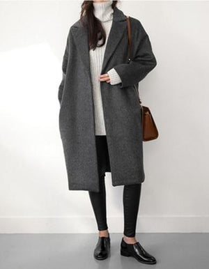 coat loose long
