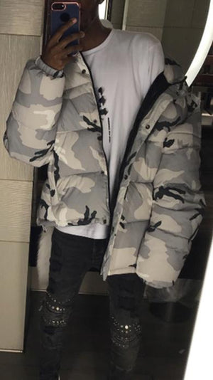 Outerwear Military Camouflage Jacket