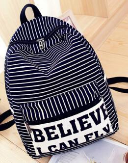 The fresh stripe believe I can fly backpack