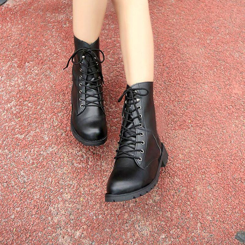 The Classic Motorcycle Ankle Boots