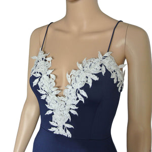 Bodycon Floral Lace Party Dress