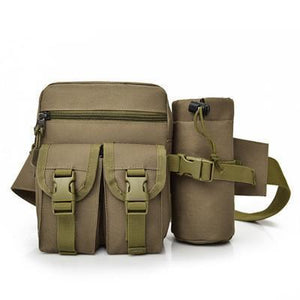 The Camouflage Military Waist Bag