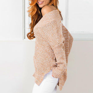 V-Neck Jumper Knitted