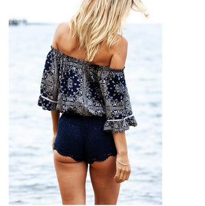 Exposed Short Length T-shirt