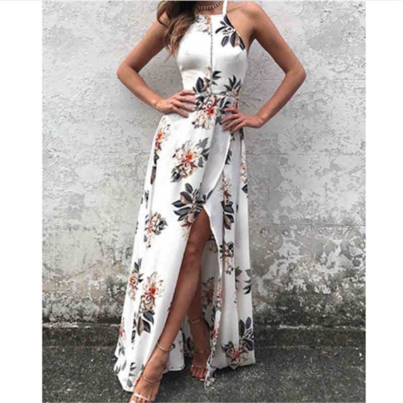 Strapless Halter Empire Dress