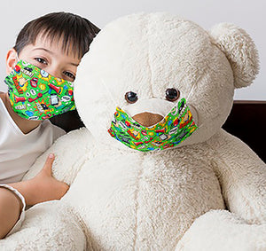 Kid Face Mask - Fabric or Disposable (Single Use)