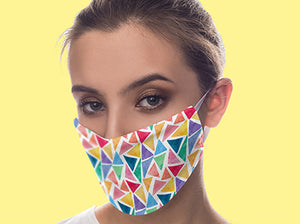 summer colorful face mask