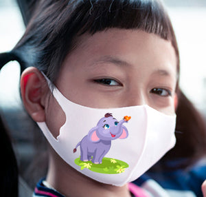 3D Kids Face Mask Kids D - Dumbo