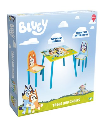 Bluey Table & Chair Set