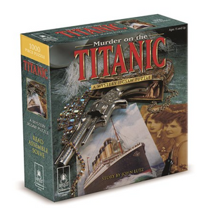 "Mystery Jigsaw Puzzle 8x8"" - Murder on the Titanic Classic"