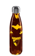 Stainless Steel Drink Bottle - Hawthorn Hawks