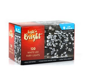 Fairy Lights 120 LEDs - White