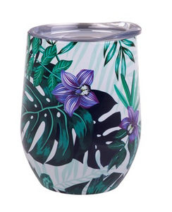 Oasis S/S Insulated 330ml Wine Tumbler - Tropical Paradise