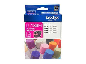 Brother LC133 Magenta Ink