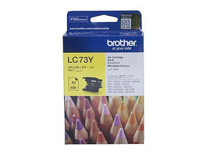 Brother LC73 Yellow Ink