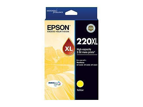 Epson 220 Yellow XL Ink