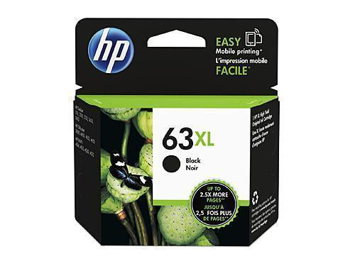 HP 63 XL Black Ink
