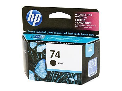 HP 74 Black Ink