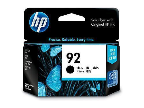 HP 92 Black Ink