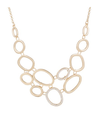 Bib Necklace - Gold