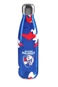 Stainless Steel Drink Bottle - Western Bulldogs