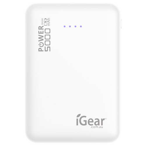 Power Bank 5000mAh - White