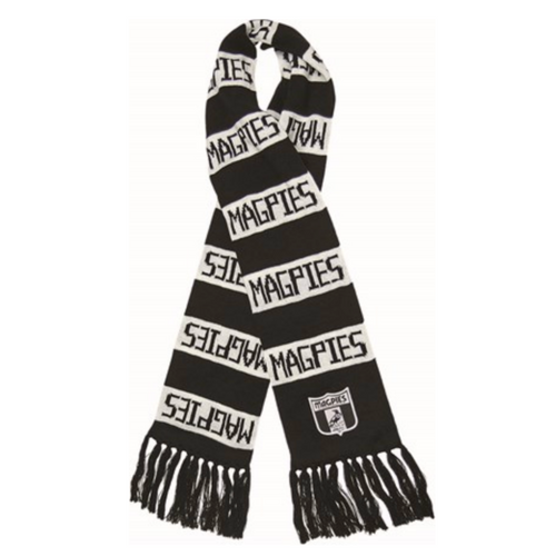Heritage Bar Scarf - Collingwood Magpies