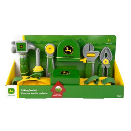 John Deere Deluxe Talking Toolbelt Set