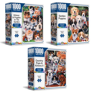 Crown 1000 pce Puzzle - Radiant Series