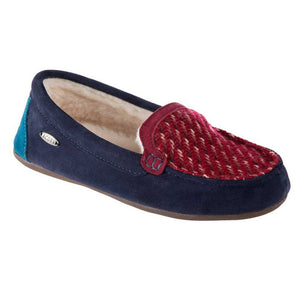 Acorn Andover Driver Moccasin - Navy
