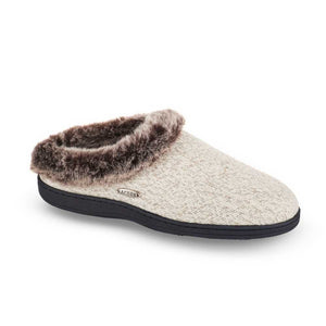 Acorn Faux Fur  - Charcoal Heather