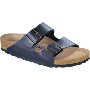 Birkenstock Arizona Birko-flor Soft Footbed - Narrow - Navy