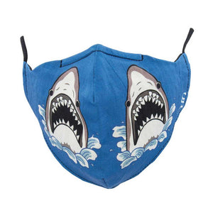 Sock Smith SharkAttack Mask - Blue