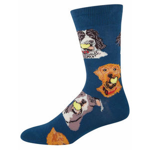 Socksmith Ball Dog - Men's - Blue