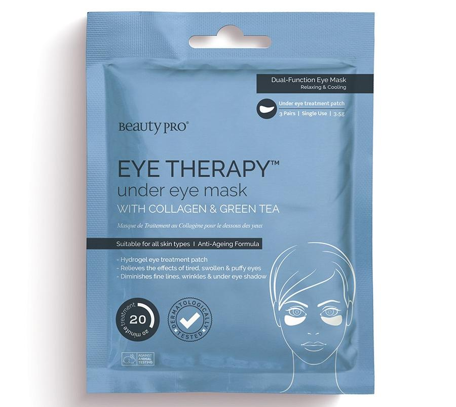 Eye Therapy Collagen Under Eye Mask with Green Tea Extract - 3 pairs