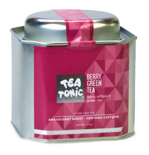 Load image into Gallery viewer, Berry Green Tea Loose Leaf Caddy Tin