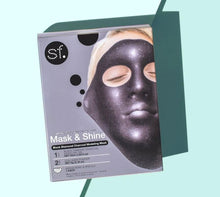 Load image into Gallery viewer, Glow Mask & Shine - Black Diamond Charcoal Modeling Mask