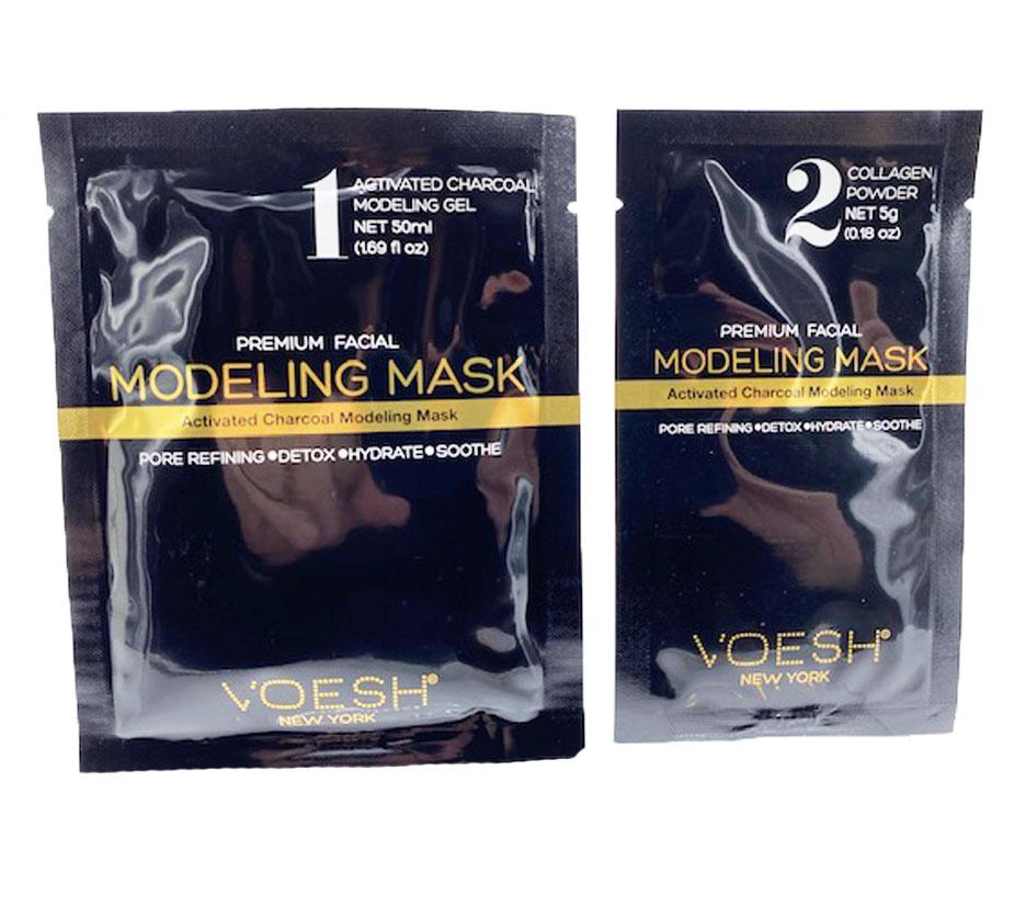 Voesh Facial Modeling Mask - Activated Charcoal