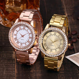 Women Watches Bayan Kol Saati Fashion relogio feminino Rose Gold Silver Luxury