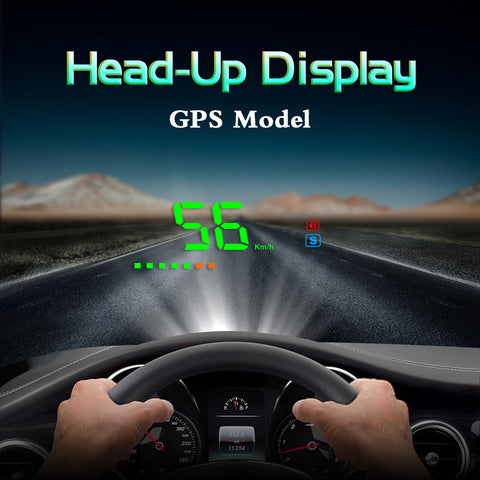 New Arrival A2 Electronics Head Up Display Car Speed Windshield Projector