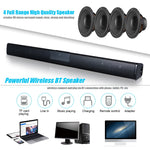 Luxury Wireless Bluetooth 4.0 Soundbar Speaker TV Home Theater