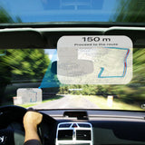 Head Up Display Protective Reflective Screen Consumption Overspeed Display