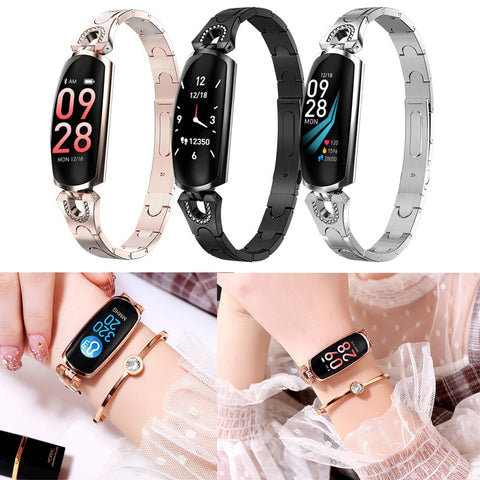 AK16 Women Smart Watch Bracelet Heart Rate Monitor Blood Pressure Fitness