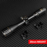 4-16x44 Tactical Optic Cross Sight Green Red Illuminated Night Riflescope