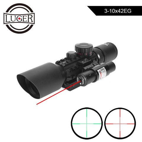 3-10x42EG Hunting Scope Tactical Optics Reflex Sight Riflescope