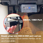 OBD II GPS Tracker 16PIN OBD Plug Play Car GSM OBD2 Tracking Device