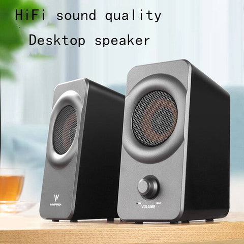 Mini Speaker Subwoofer Computer Small Stereo Notebook Home Theater