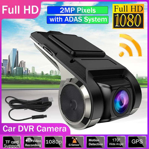 Dash Cam Car DVR Vehicle Camera Full HD Loop Recording Vedio Recorder